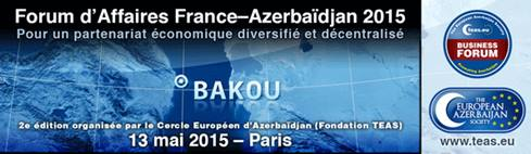 Forum d'Affaires France-Azerbaïdjan 2015
